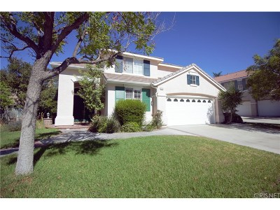 Stevenson Ranch Single Family Home For Sale: 25925 Clifton Place