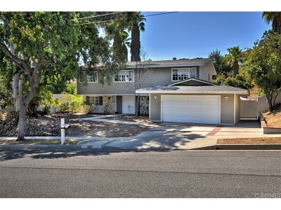 Calabasas Single Family Home Sold: 22346 De Kalb Drive