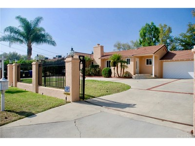 Tarzana Single Family Home For Sale: 6051 Corbin Avenue