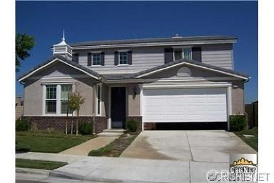 Newhall Single Family Home Active Under Contract: 26132 Rene Veluzzat Way