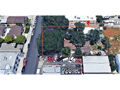 Los Angeles County Single Family Home For Sale: 8732 Darby Avenue