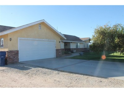 Lancaster Single Family Home For Sale: 47655 91st Street West