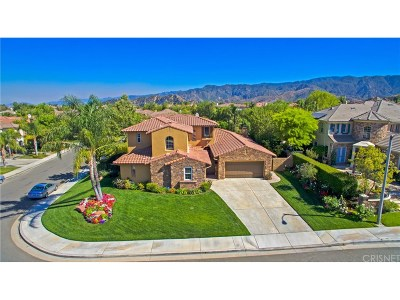 Stevenson Ranch Single Family Home For Sale: 25842 Flemming Place