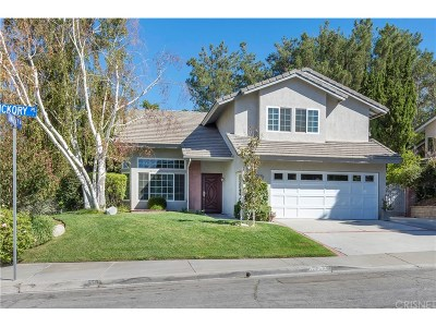 Saugus Single Family Home For Sale: 22595 Hickory Place
