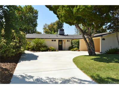 Woodland Hills Single Family Home For Sale: 6255 Jumilla Avenue