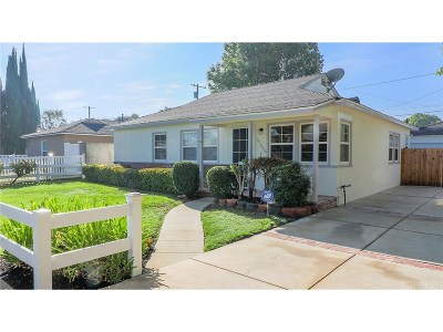Northridge Single Family Home For Sale: 17556 Lorne Street