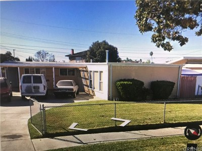 Whittier Single Family Home For Sale: 9926 Calmada Avenue