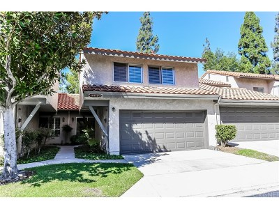 Porter Ranch Condo/Townhouse For Sale: 19175 Index Street #3
