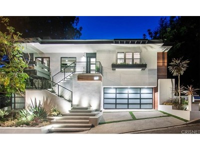 Studio City Single Family Home Sold: 3517 Laurelvale Drive