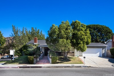 Sylmar Single Family Home For Sale: 13540 Bradley Avenue