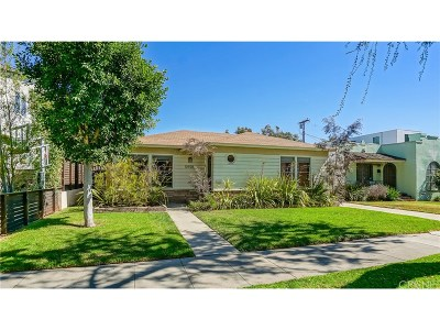 Culver City Single Family Home For Sale: 10928 Wagner Street