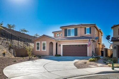 Palmdale Single Family Home For Sale: 37421 Woodsia Court