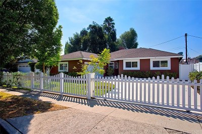Sherman Oaks Single Family Home Sold: 14814 Clark Street