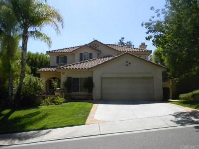Saugus Single Family Home For Sale: 22916 Boxwood Lane