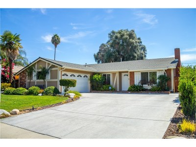 West Hills Single Family Home For Sale: 22552 Valerio Street