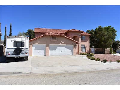 Palmdale Single Family Home For Sale: 41854 Cabo Court
