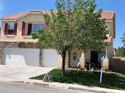 Palmdale Single Family Home For Sale: 40101 Watford Way
