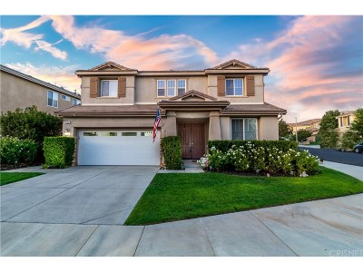 Saugus Single Family Home For Sale: 22207 Evening Star Court