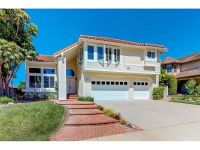 Thousand Oaks Single Family Home For Sale: 3142 Montagne Way