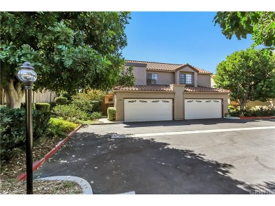 Simi Valley Condo/Townhouse For Sale: 5829 Cochran Street