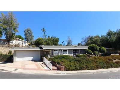 Woodland Hills Single Family Home For Sale: 20870 Exhibit Place