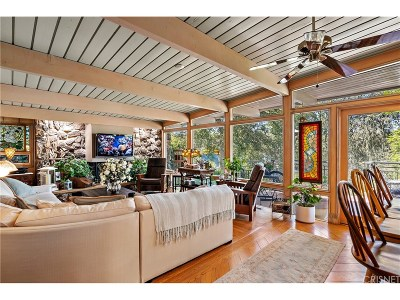 Woodland Hills Single Family Home For Sale: 22133 Mulholland Drive