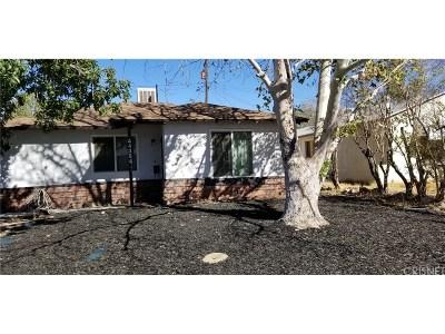 Lancaster Single Family Home For Sale: 44384 Stanridge Avenue
