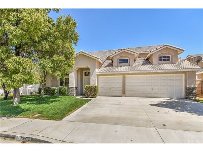 Palmdale Single Family Home For Sale: 39900 Cyrus Lane
