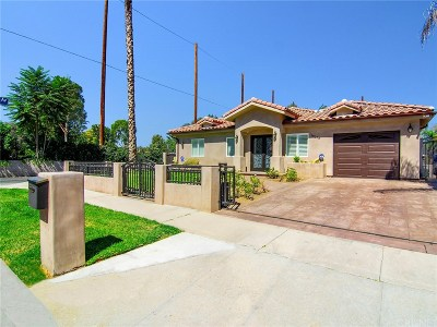 Tarzana Single Family Home For Sale: 18273 Valley Vista Boulevard