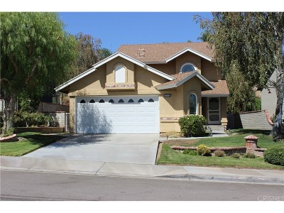 Saugus Single Family Home For Sale: 28861 Startree Lane
