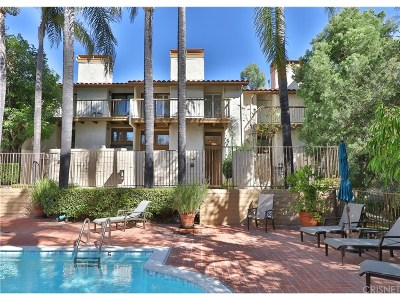Calabasas Condo/Townhouse For Sale: 23461 Park Sorrento