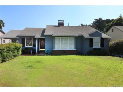 Valley Village Single Family Home For Sale: 5530 Carpenter Avenue