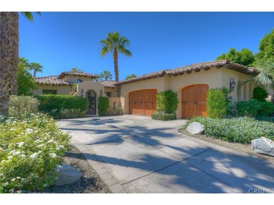 La Quinta Single Family Home For Sale: 80345 Via Pontito
