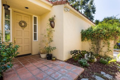 Calabasas Single Family Home For Sale: 4351 Park Arroyo #25