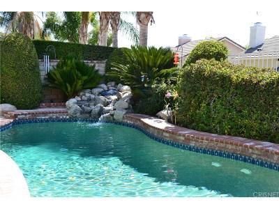 Saugus Single Family Home For Sale: 21656 Agajanian Lane