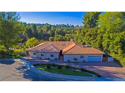 Tarzana Single Family Home For Sale: 4311 Coquette Place