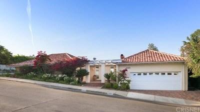 Studio City Single Family Home Sold: 11401 Dona Teresa Drive