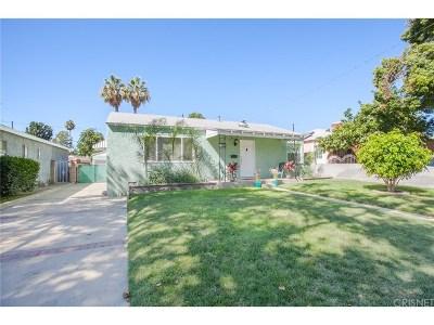 Burbank Single Family Home For Sale: 545 North Mariposa Street