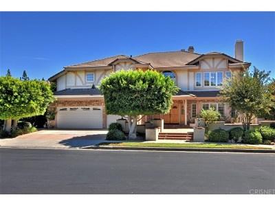 Porter Ranch Single Family Home For Sale: 18621 Hillsboro Road