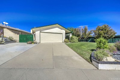 Castaic Single Family Home For Sale: 28015 Fox Run Circle
