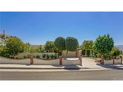 Canyon Country Single Family Home For Sale: 29216 Lotusgarden Drive