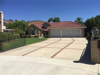 Simi Valley CA Single Family Home For Sale: $889,900