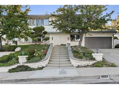 Woodland Hills Single Family Home For Sale: 6025 Rod Avenue
