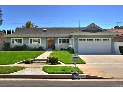 West Hills Single Family Home Sold: 23444 Strathern Street