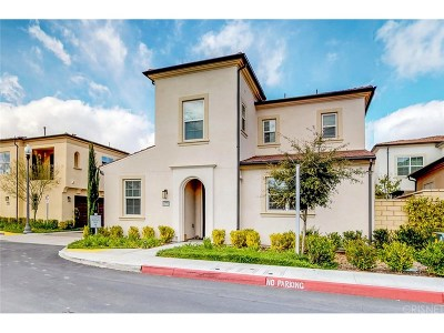 Saugus Single Family Home For Sale: 21773 Propello Drive
