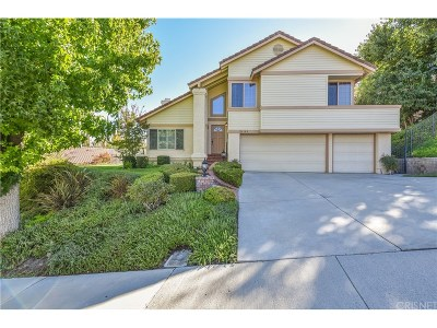 Los Angeles County Single Family Home For Sale: 24160 Mentry Drive