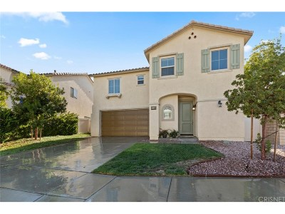Canyon Country Single Family Home For Sale: 27135 Red Maple Court