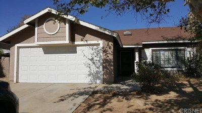 Palmdale Single Family Home For Sale: 37723 Janus Drive