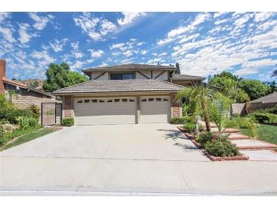 Porter Ranch Single Family Home For Sale: 18575 Brasilia Drive