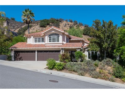 Calabasas Single Family Home For Sale: 24929 Alicante Drive
